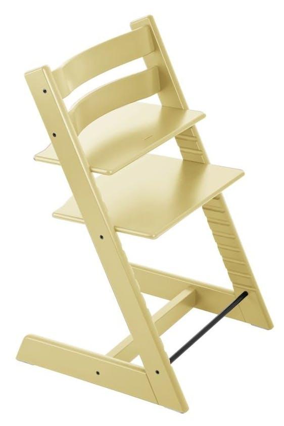 Chaise haute Tripp Trapp de Stokke - jaune épis de blé