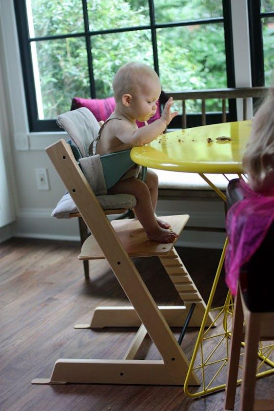 Chaise haute Tripp Trapp de Stokke