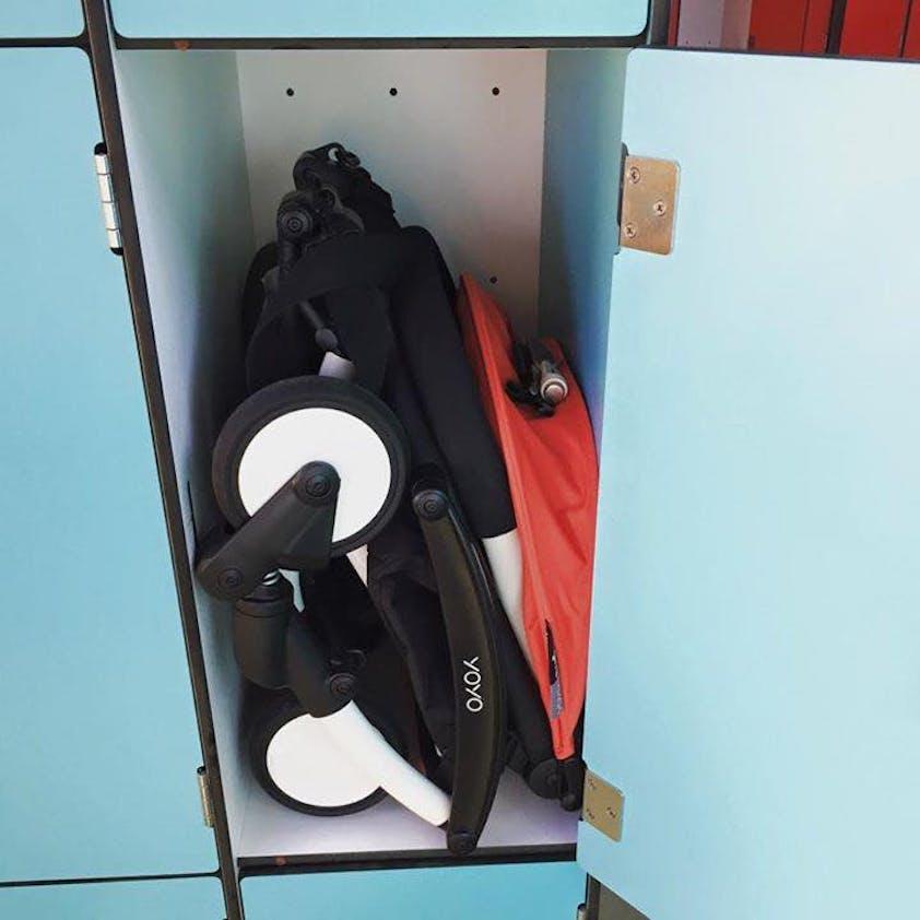 Poussette Yoyo + de Babyzen - compacte casier