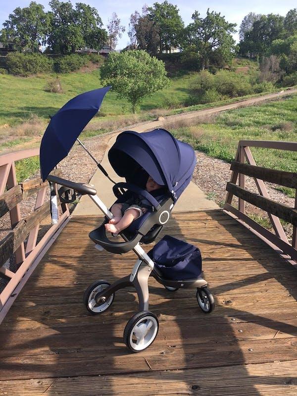 Poussette Xplory de Stokke - ombrelle