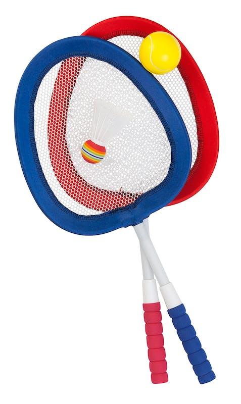 jeu de badminton