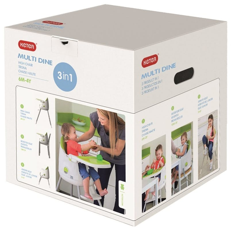 Chaise haute Multi Dine de Babytolove - carton packaging
