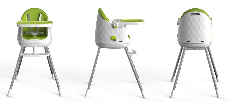 Chaise haute Multi Dine de Babytolove - vert lime