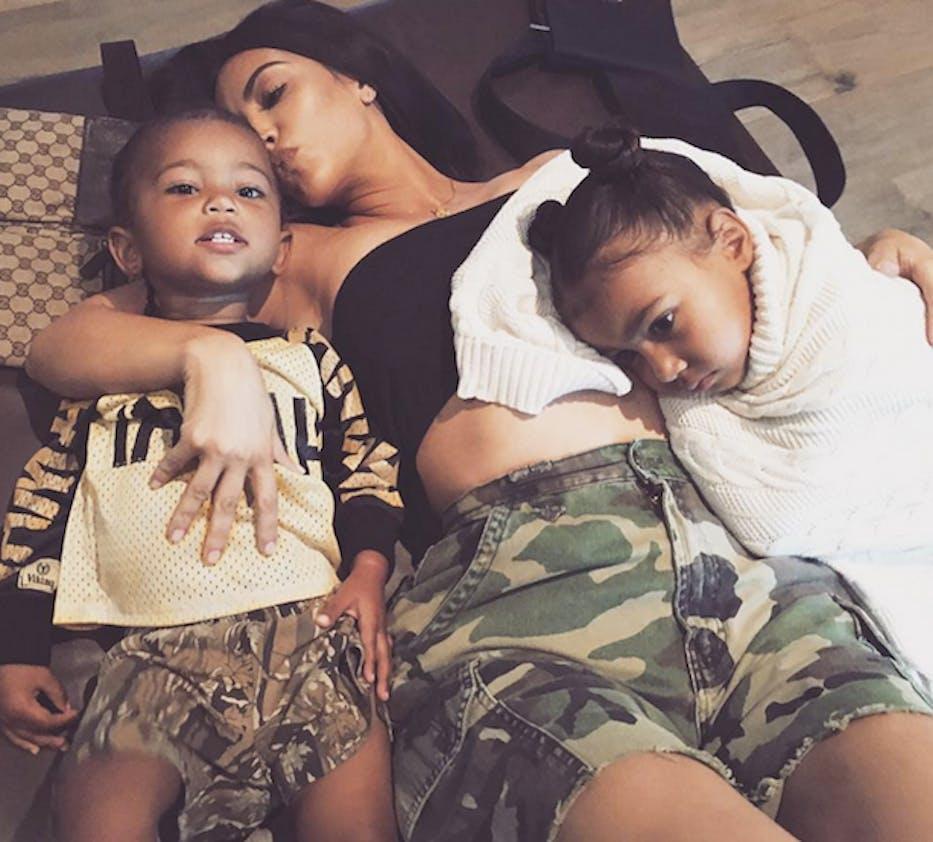 Eclipse solaire et du coeur pour Kim Kardashian