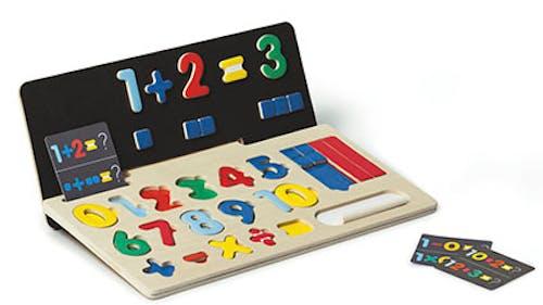 Puzzle magnétique