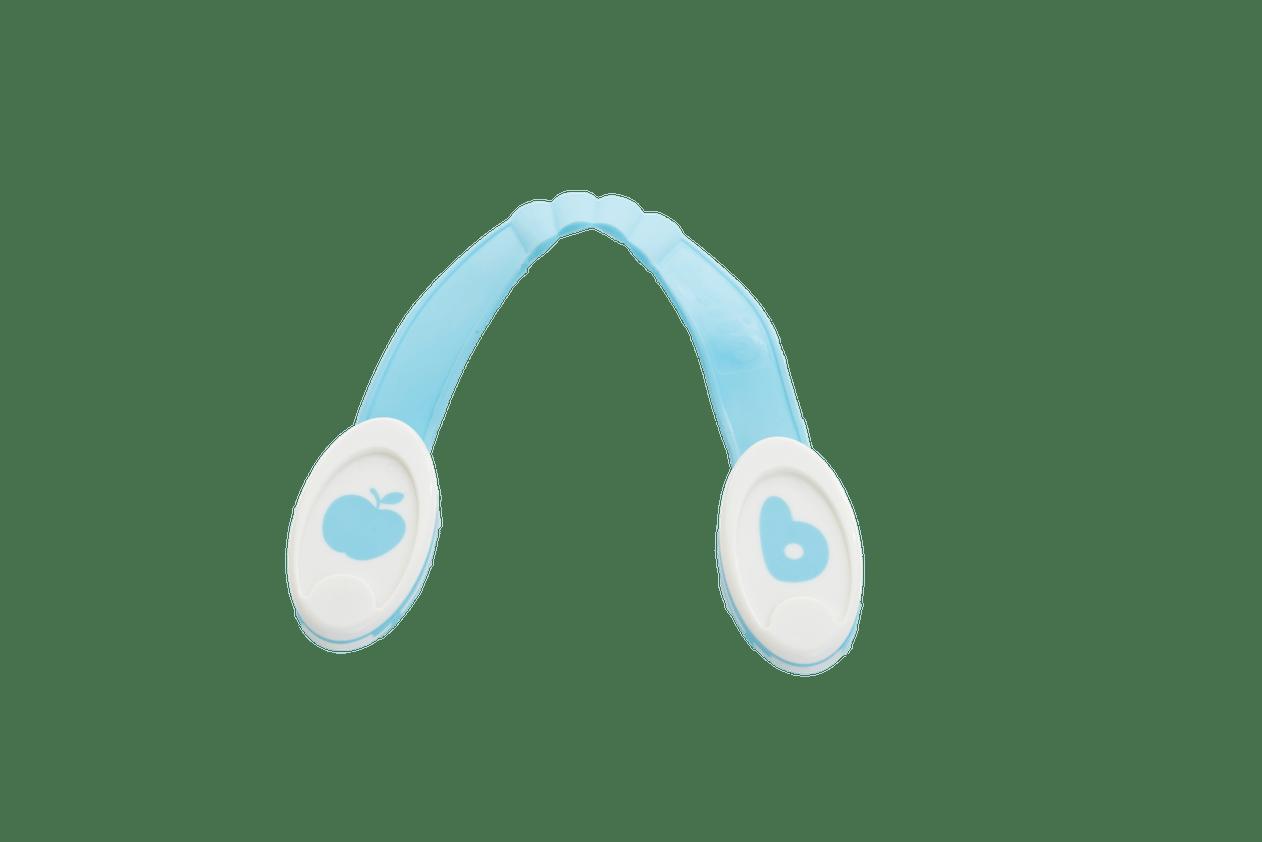 B clip bleu