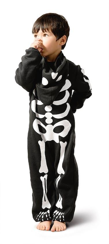 déguisement de squelette Halloween