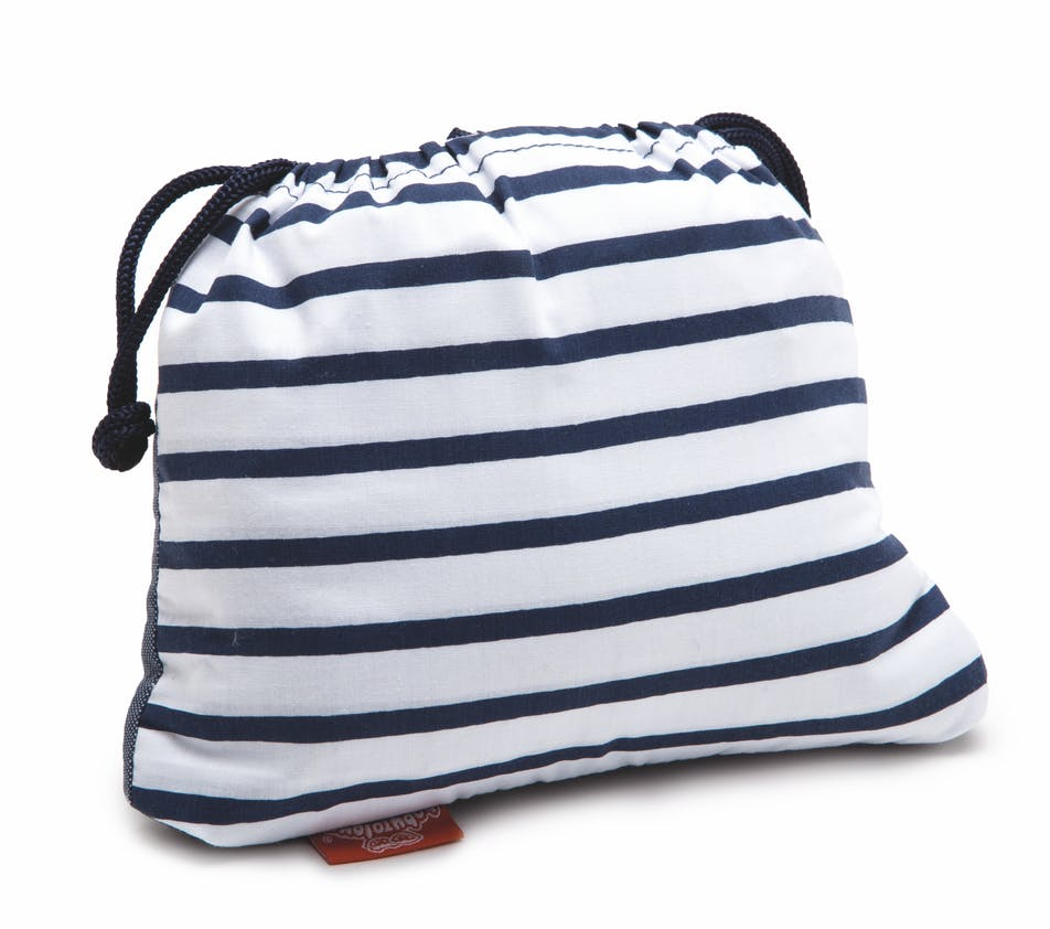 Chaise Nomade blue stripes