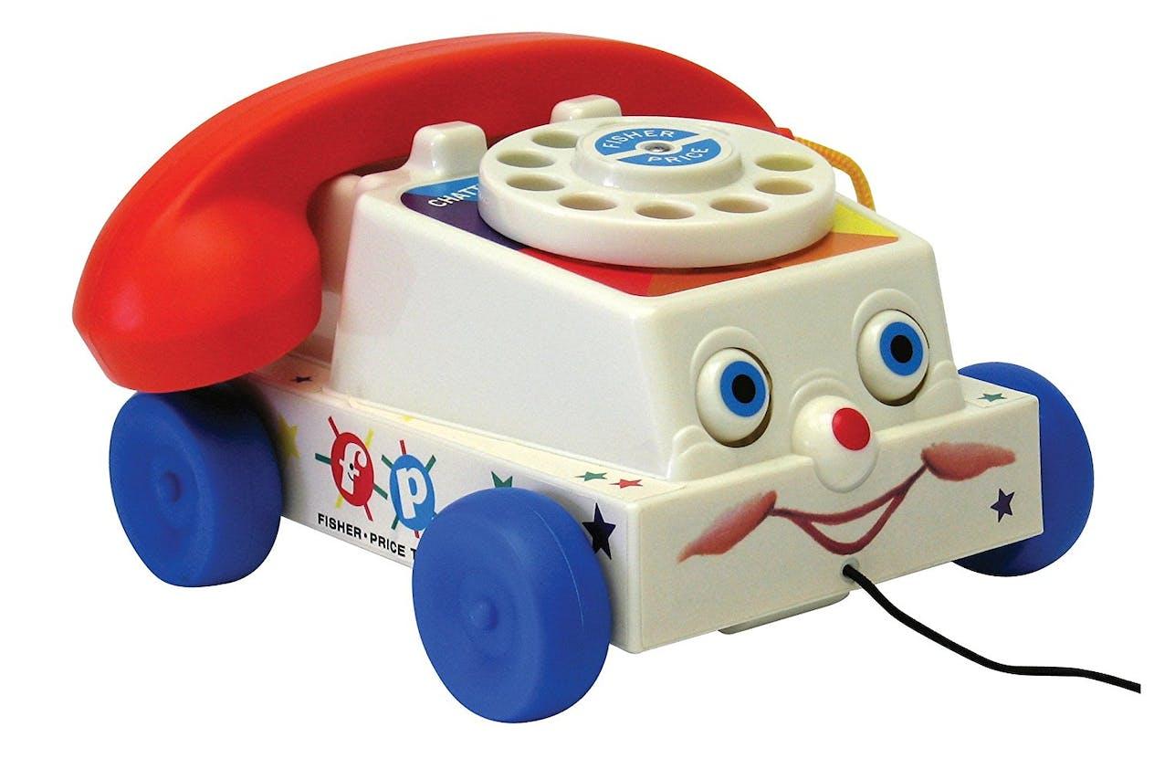 Le téléphone Fisher-Price, 22,99 €. Dès 12 mois.