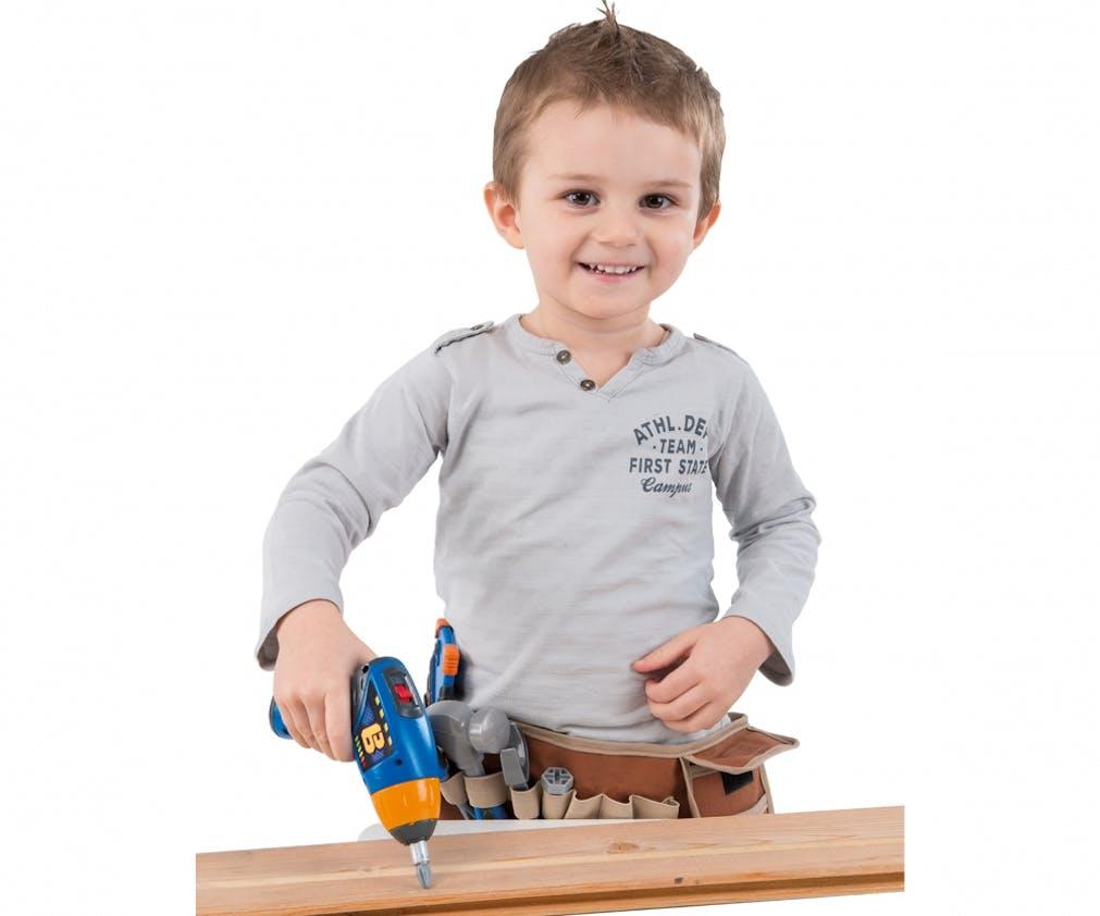 La ceinture outils, Smoby, 24,99 €. Dès 3 ans.