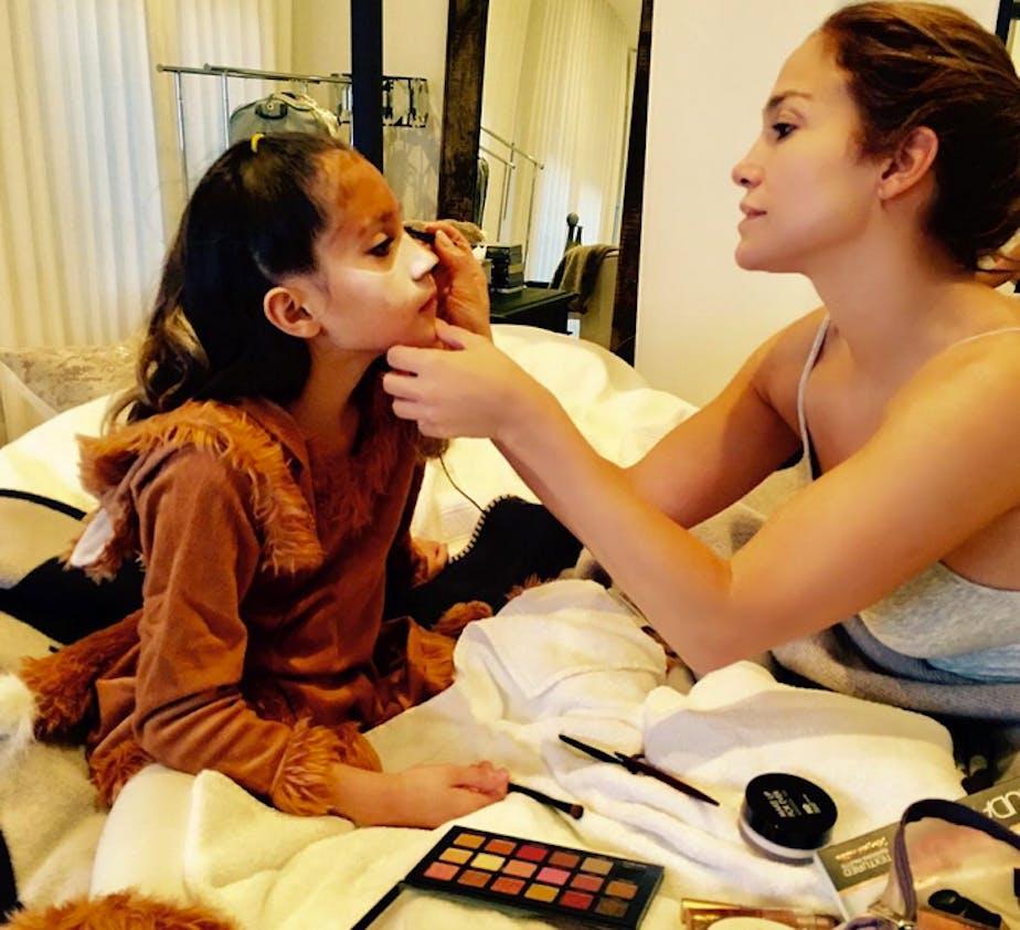 "Jennifer Lopez : ""tu seras la plus belle ma fille"""