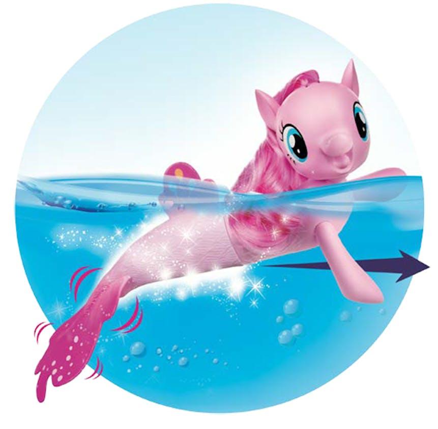 Sirène nageuse, My Little Pony, Hasbro, 20,99 €. Dès 3 ans.