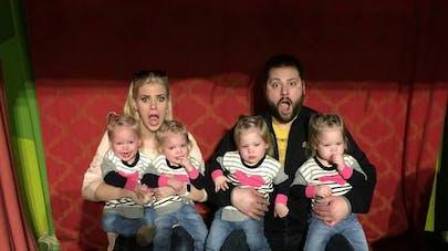 Une maman de quadruplées raconte avec humour son quotidien   (VIDEO)