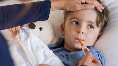Enfant malade: quand le garder à la   maison?