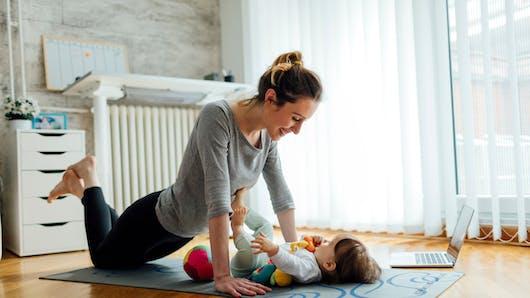 Coaching Remise en forme après bébé Par Lucile Woodward I  2ème mois