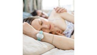 Bracelet Ava porté la nuit pour capter le début de l'ovulation