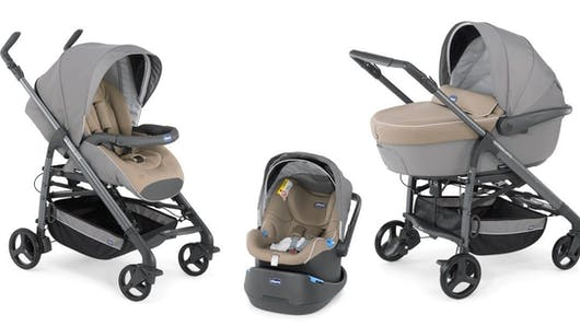 Trio Love Poussette, nacelle et siège-auto de Chicco