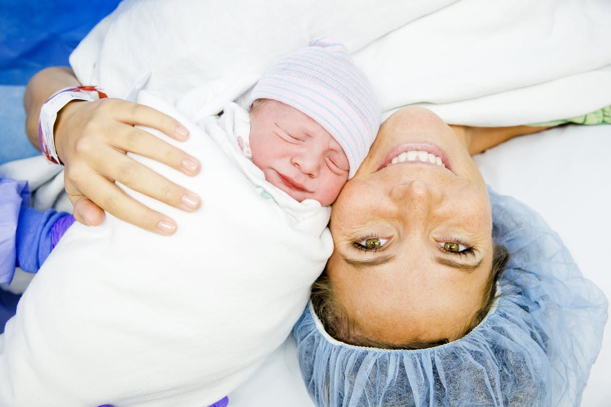 Le déroulement de l'accouchement