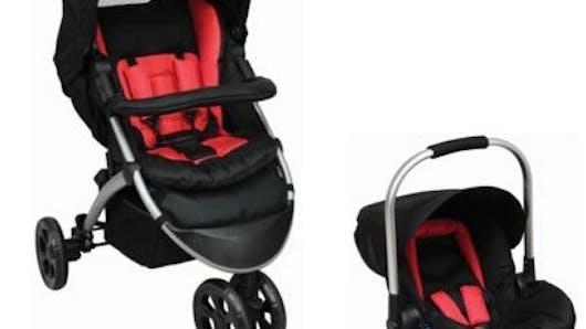 Pack Duo Poussette 3 roues de Tex Baby