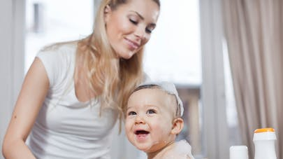Toujours des substances toxiques dans les produits de toilette pour bébé!