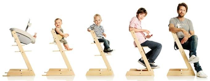 Chaise haute Tripp Trapp de Stokke - évolutive