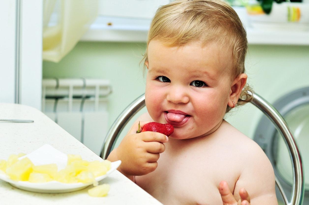 Les fruits rouges, Bébé va adorer !