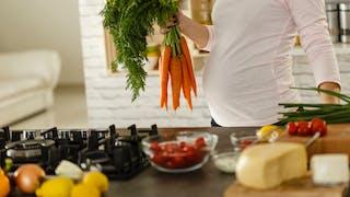 femme enceinte cuisine aliments sains