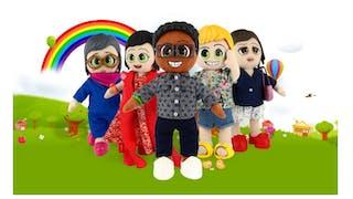groupe de poupées