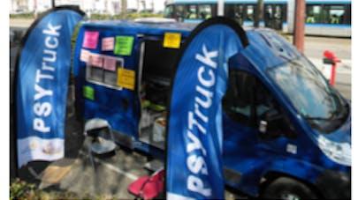 """Un """"psytruck"""" sillonne les routes de France pour sensibiliser aux maladies mentales"""