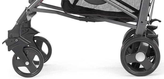 Poussette canne Liteway 2 de Chicco - roues avant arrière