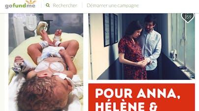 Mobilisation sur Gofundme pour sauver Anna, née prématurément