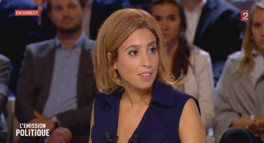Léa Salamé maman