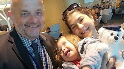 Une petite fille trisomique star d'un vol Air France