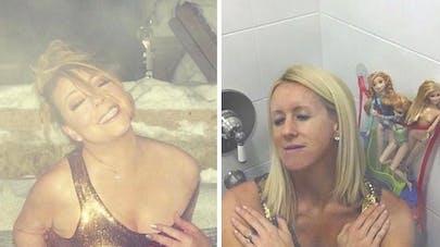 Le compte Instagram hilarant d'une maman qui imite les célébrités (PHOTOS)