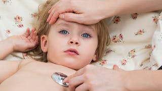 enfant fièvreux