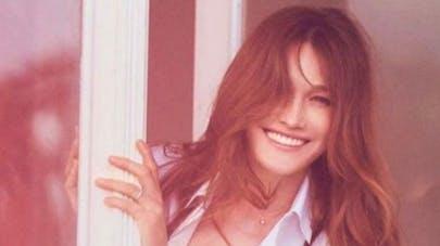 Carla Bruni-Sarkozy dévoile une photo de Giulia pour Pâques