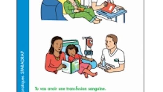 La transfusion sanguine expliquée aux enfants