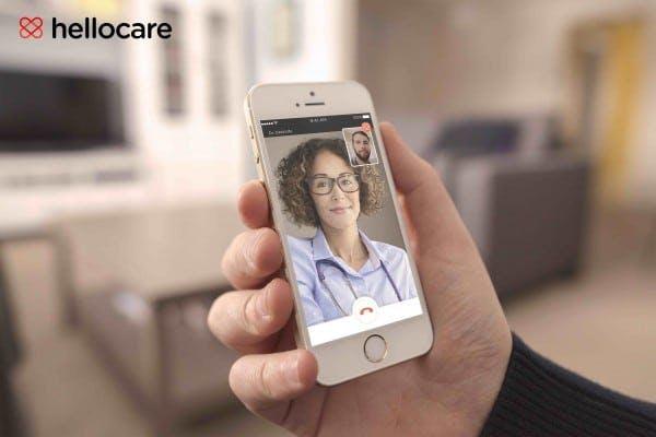 Application de téléconseil médical Hellocare