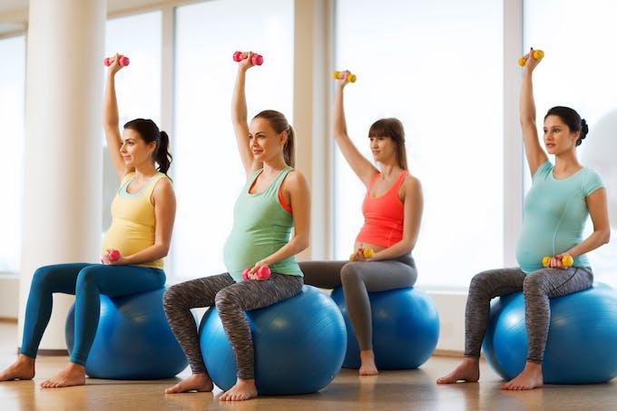 cours de pilates enceinte