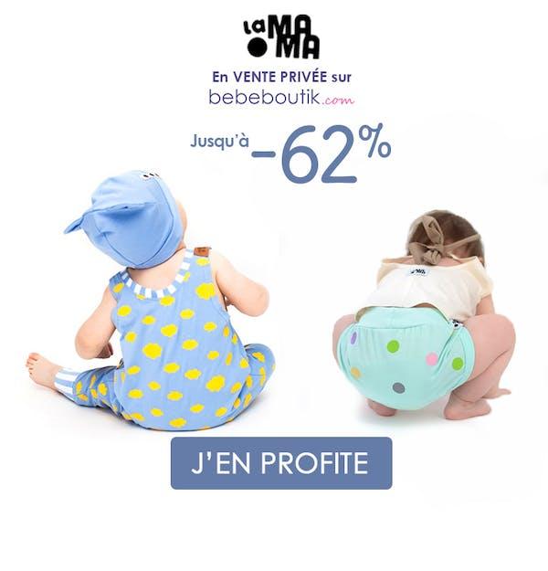 -60% sur la marque La mama !