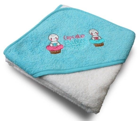 Baignoire gonflable Cupcake Babies - cape de bain