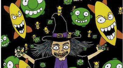 La sorcière Microba apprend l'hygiène aux enfants