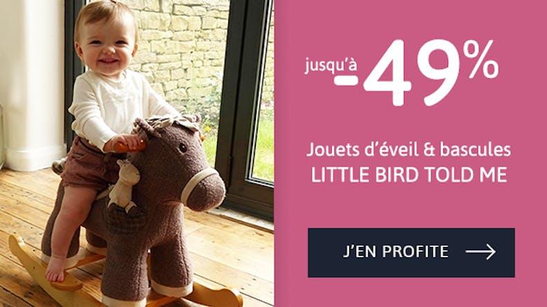 -50% sur la marque Little Bird To Me !