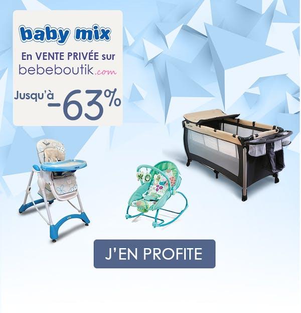 -60% sur la marque Baby Mix