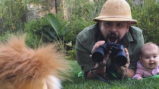 Les photos géniales d'un papa aventurier et de sa fille de 9 mois (diaporama)