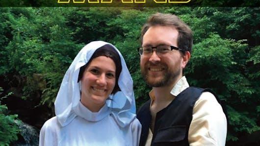 De futurs parents annoncent la grossesse en mode Star Wars