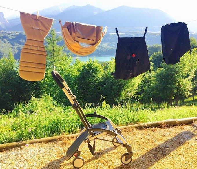 Poussette Yoyo + de Babyzen - tissus habillages déhoussables et lavables