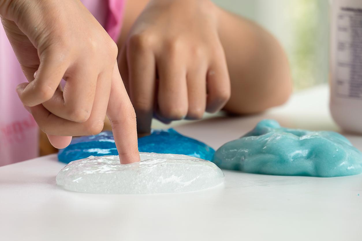 Attention, le slime peut-être dangereux pour vos enfants