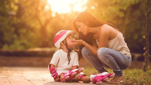 Blessure chez l'enfant : les bisous magiques marchent vraiment (c'est prouvé) !