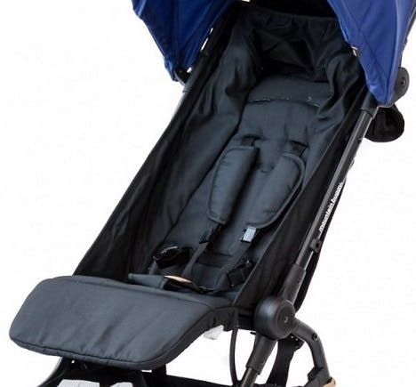 Poussette Nano V2 de Mountain Buggy - assise siège confort